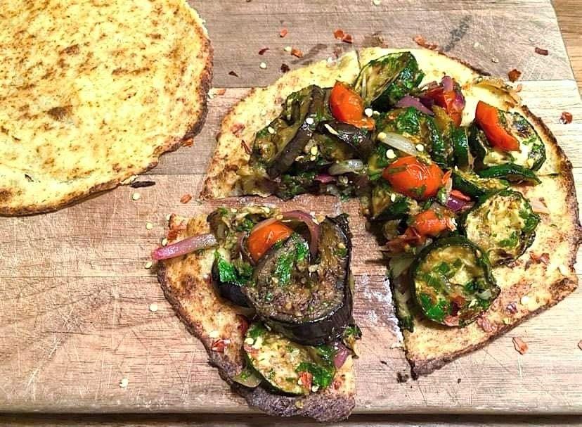 Opskrift: Vellykket vegansk blomkålspizza