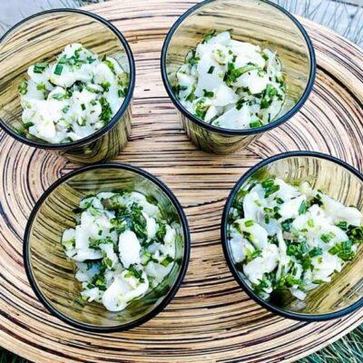 Ceviche-af-kammuslinger