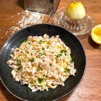 Pasta-al-limone-med-krabbe