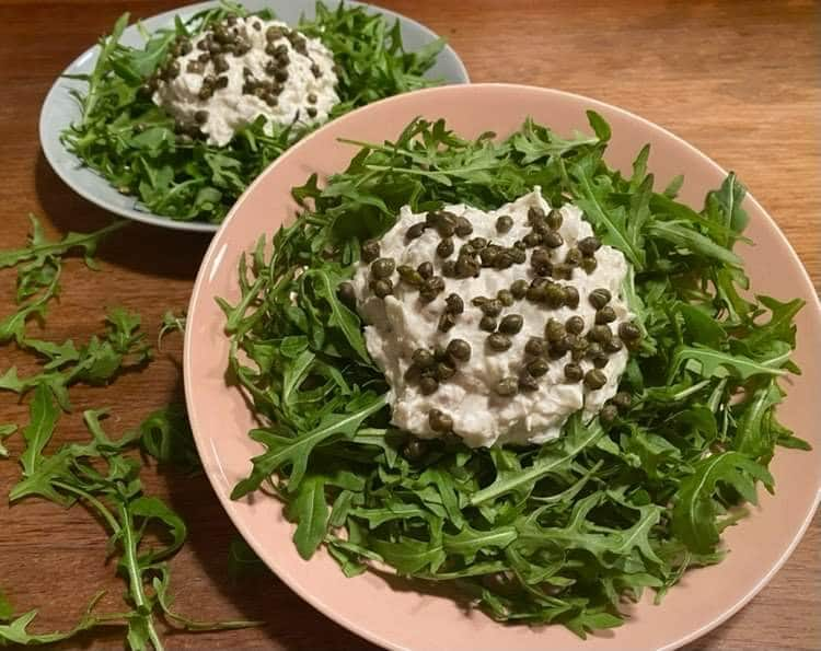 Opskrift: Lækker italiensk forret med torsk og mascarpone (baccala)
