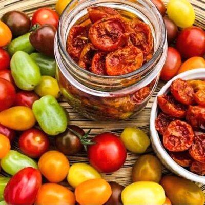 Nemme-langtidsbagte-semidried-tomater
