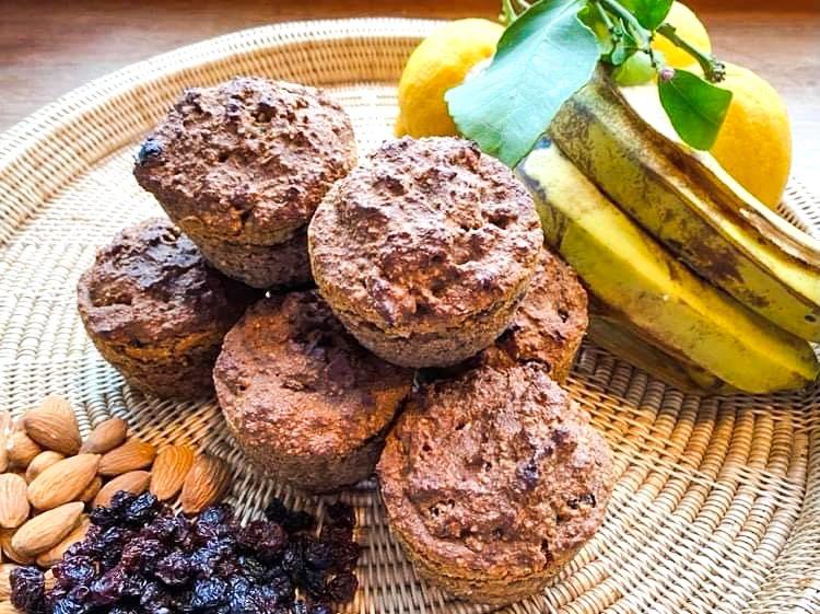 Opskrift: Veganske bananboller uden gluten og sukker