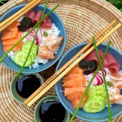 Chirashi-sushi-sushi-bowl