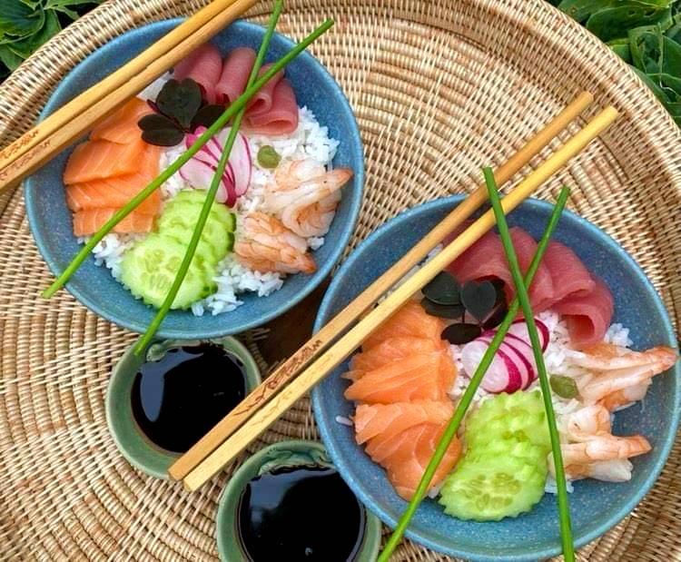 Opskrift: Chirashi sushi – sushi bowl