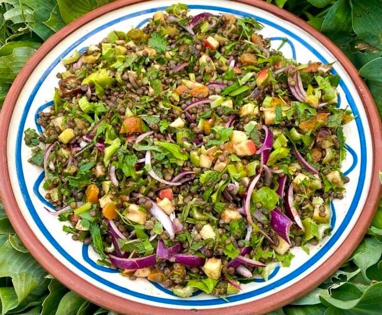 Opskrift: Marokkansk linsesalat